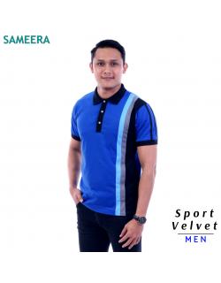 Polo Shirt Sport Velvet MEN (Biru) 2.0