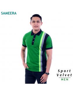 Polo Shirt Sport Velvet MEN (Hijau) 2.0