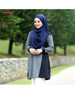 Baju Muslimah MED0091 Grey
