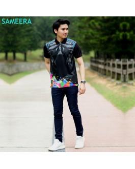 Sameera Jersey Sukan Men Collar 2.0