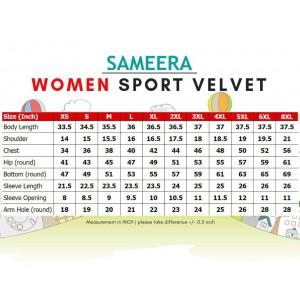 Baju Muslimah Sport Velvet Women (Emerald Green)
