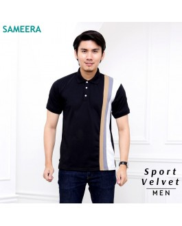 Polo Shirt Sport Velvet MEN (Black)