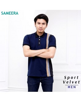 Polo Shirt Sport Velvet MEN (Navy Blue)