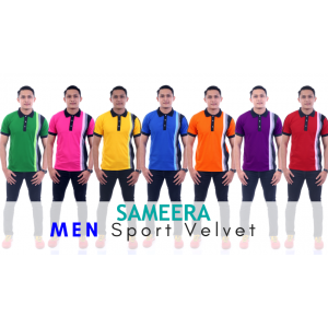 Polo Shirt Sport Velvet MEN (Maroon)