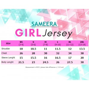 Jersey Sublimation 4 Musim GIRL
