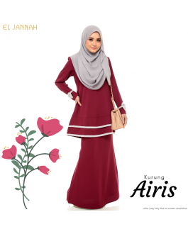 Kurung Briedsmaid AIRIS Maroon