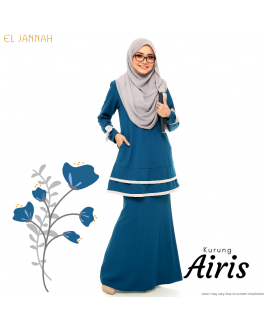 Kurung Briedsmaid AIRIS French Blue