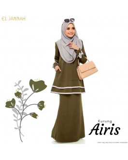 Kurung Briedsmaid AIRIS Moss Green