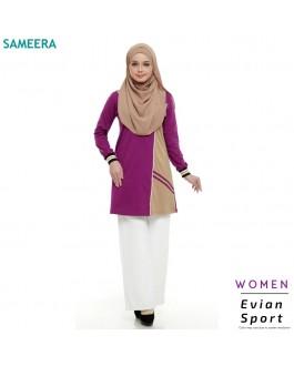 Baju Muslimah Evian Sport Women (Purple)