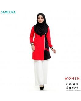 Baju Muslimah Evian Sport Women (Red)