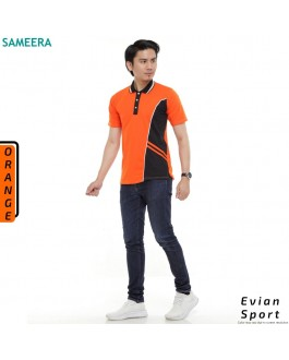 Polo Shirt EVIAN SPORT MEN (Orange)