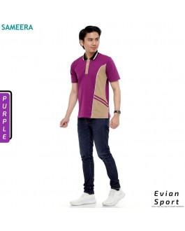 Polo Shirt EVIAN SPORT MEN (Purple)