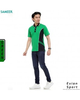 Polo Shirt EVIAN SPORT MEN (Green)