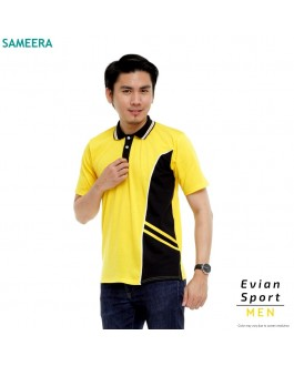 Polo Shirt EVIAN SPORT MEN (Yellow)