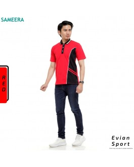 Polo Shirt EVIAN SPORT MEN (Red)