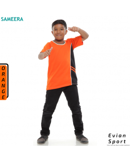 Boy Tshirt EVIAN SPORT (Orange)