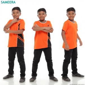 Boy Tshirt EVIAN SPORT (Orange)