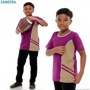Boy Tshirt EVIAN SPORT (Purple)
