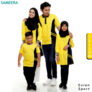 Boy Tshirt EVIAN SPORT (Yellow)