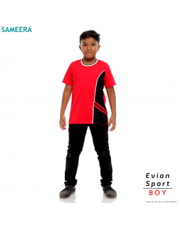 Boy Tshirt EVIAN SPORT (Red)