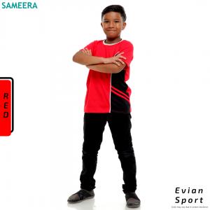 Boy Tshirt EVIAN SPORT (Red)