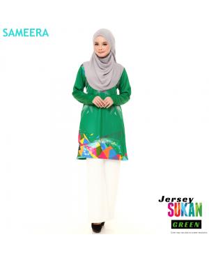 Sameera Jersey Sukan Women Green