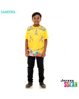 Sameera Jersey Sukan Boy Yellow