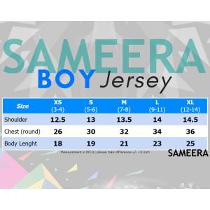 Sameera Jersey Sukan Boy Blue