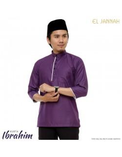 Kurta MEN IBRAHIM Purple Plum