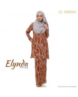 Kurung Cotton ELYNDA Almond Brown