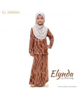 Kurung Girl ELYNDA Almond Brown