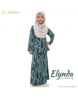 Kurung Girl ELYNDA Forest Green
