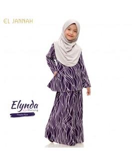 Kurung Girl ELYNDA Purple Plum