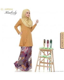 KIMBERLY Kurung Honey Gold