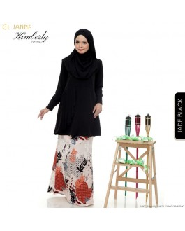 KIMBERLY Kurung Jade Black