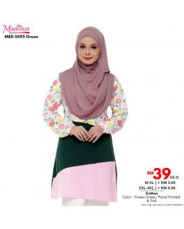 Baju Muslimah Nursing MED0093 Green