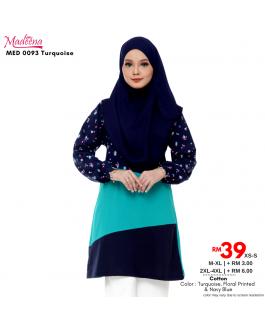 Baju Muslimah Nursing MED0093 Turquoise