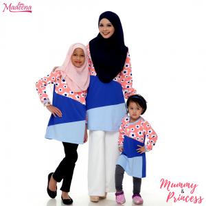 Baju Muslimah Nursing MED0093 Royal Blue