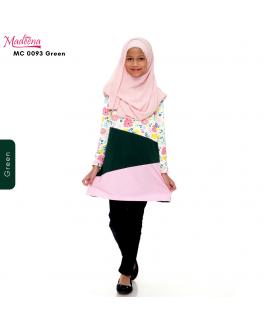 Baju Muslimah Girl MC0093 Green