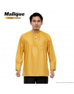 Kurta MEN MALIQUE Golden Yellow