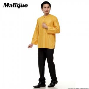 Kurta MEN MALIQUE Golden Yellow