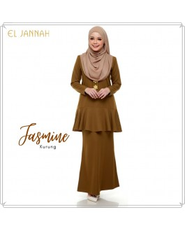JASMINE Kurung Golden Brown