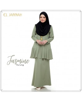 JASMINE Kurung Mint Green