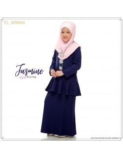 Kurung Girl JASMINE Navy Blue