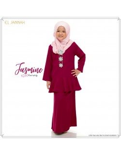 Kurung Girl JASMINE Maroon