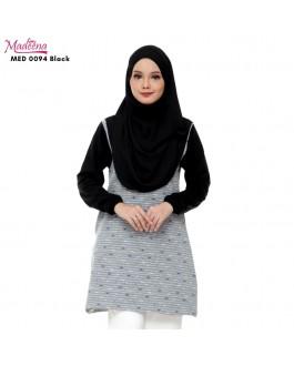 Baju Muslimah Nursing MED0094 BLACK