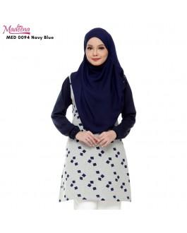 Baju Muslimah Nursing MED0094 NAVY BLUE