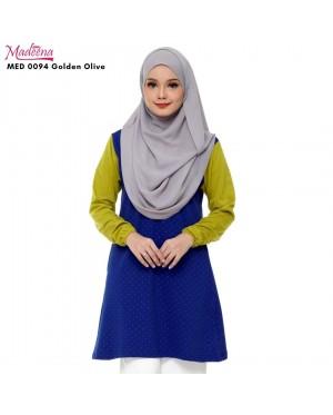 Baju Muslimah Nursing MED0094 GOLDEN OLIVE