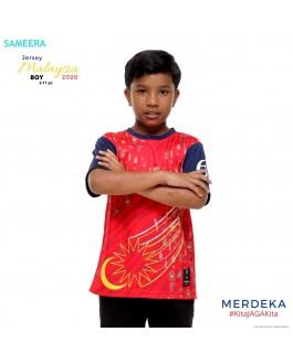 Sameera Jersey MERDEKA 2020 Boy