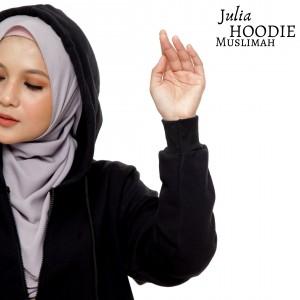JULIA Hoodie Muslimah BLACK